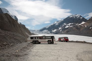 Ice Explorer On The Athabasca Glacier, Canada