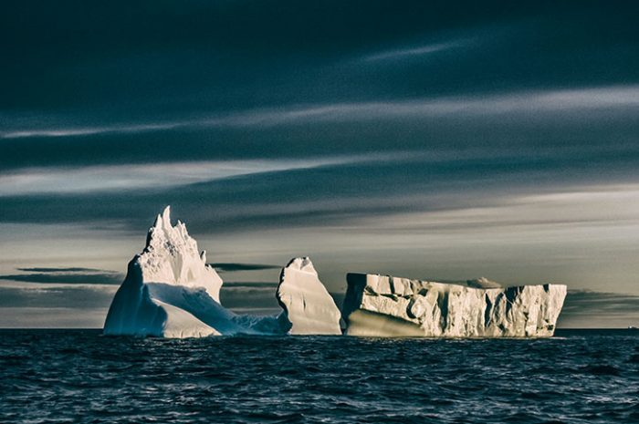 Icebergs Around Fogo Island, Canada