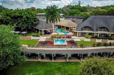 Ilala Lodge Hotel Aerial View