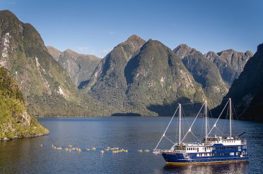 Doubtful Sound boat
