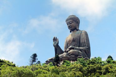 Lantau Island's Giant Buddha