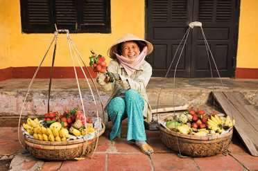 Fruit seller, Hoi An