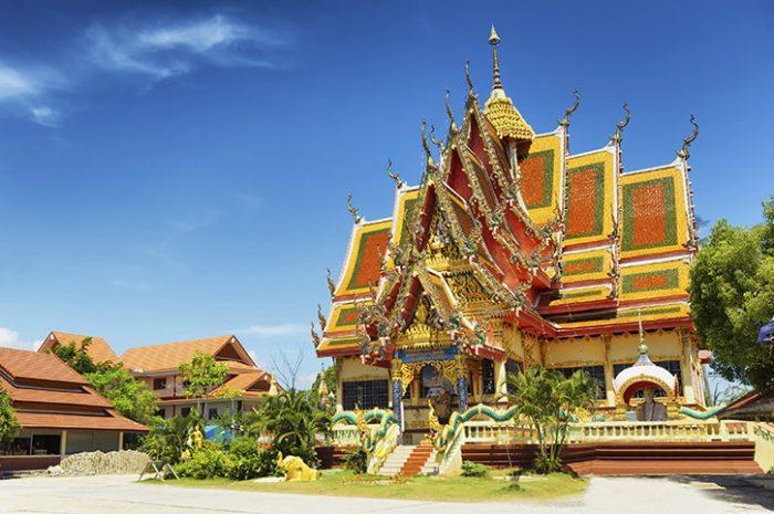 Temple, Koh Samui
