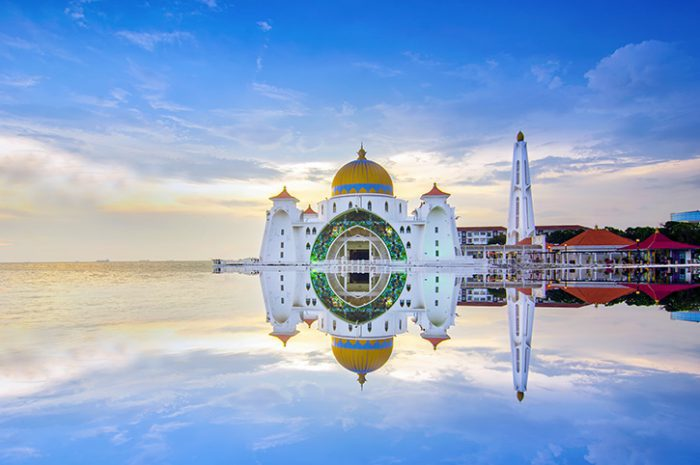 Straits Mosque Malacca