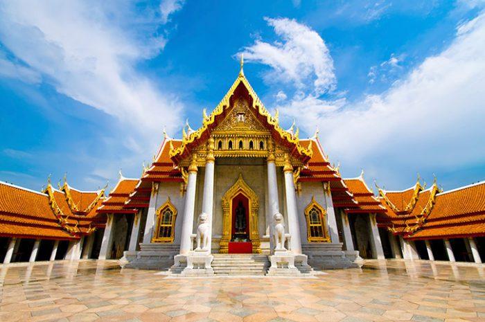 Marble Temple Bangkok Day Tour