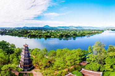 Thien-Mu-Pagoda, Vietnam