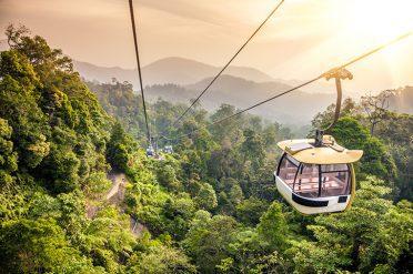 Cable Car in Kuala Lumpur