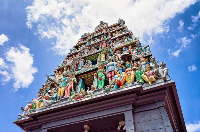 Sri Mahamariamman Temple in Chinatown, Singapore