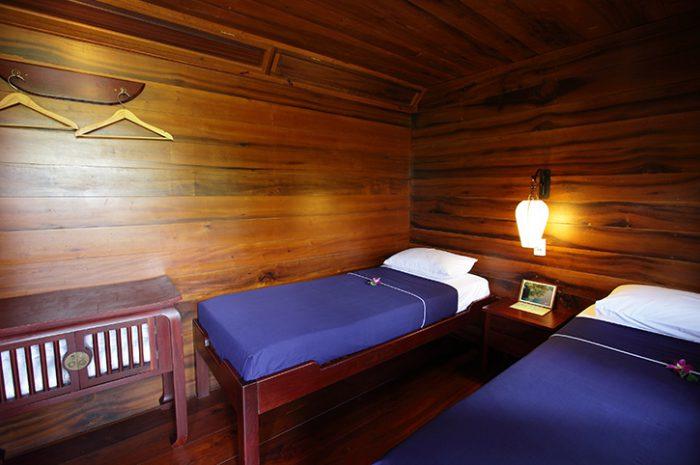 Mekong Delta Cruise Cabin
