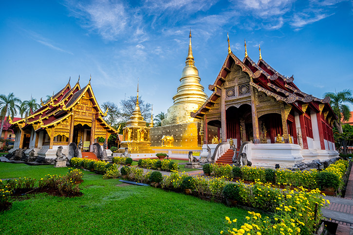 Wat Phra Singh, Thailand
