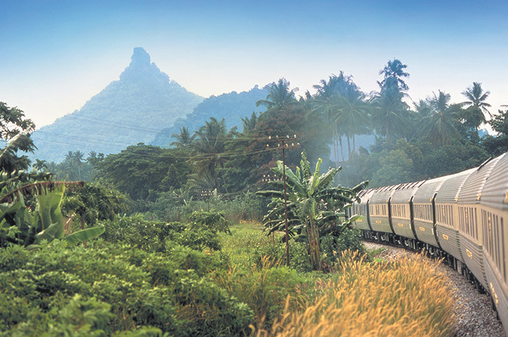 SOUTH EAST ASIA RAIL: Eastern & Oriental Express rail journeys and holidays