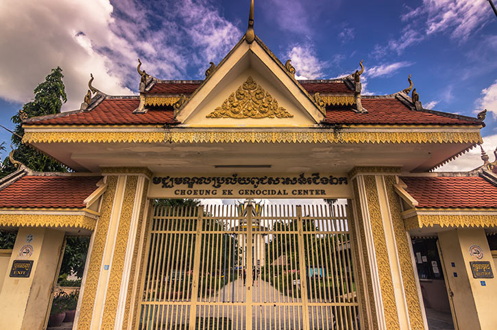 Entrance of Killing Fields