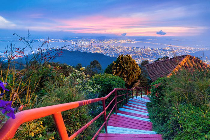 Georgetown View from Penang Hill