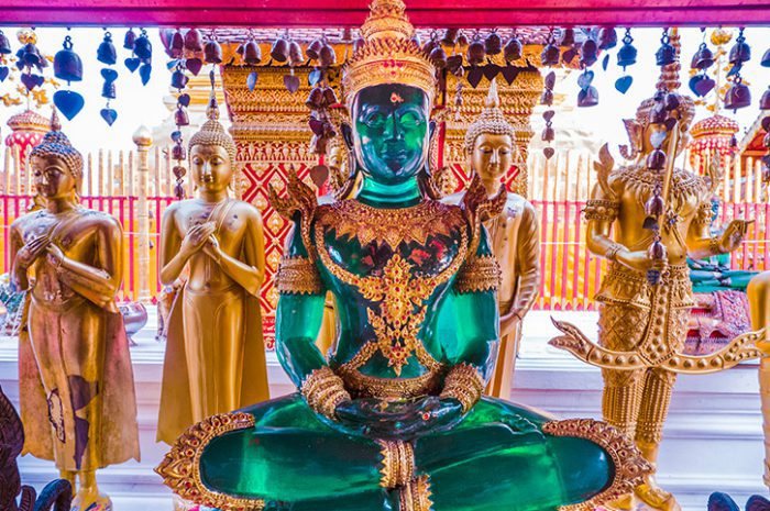 Green Buddha, Chiang Mai