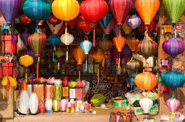 Lanterns in Da Nang