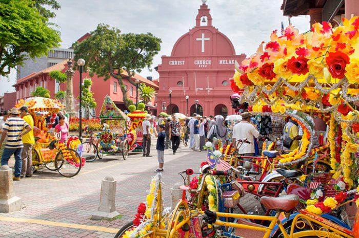 Rickshaws, Malacca