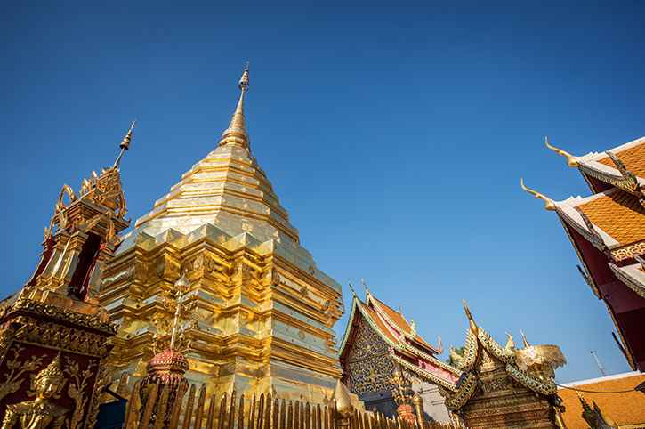 Wat Phra Doi Suthep, Northern Thailand