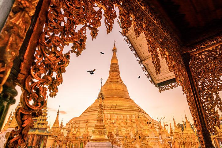 Schwedagon Yangon
