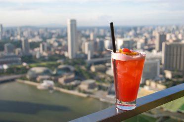 Singapore Sling at Raffles