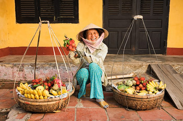 Vietamese Fruit Seller