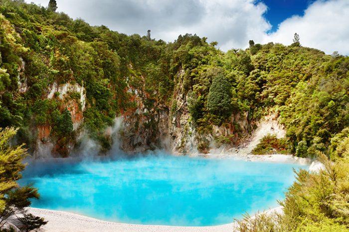 Inferno Crater Lake Rotorua