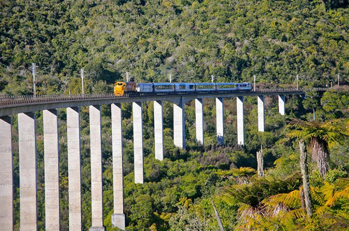 Northern Explorer Hapuawhenua Viaduct