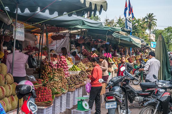 Phnom Penh Fruit Market