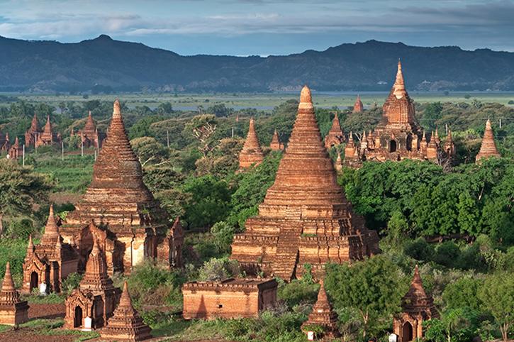 Bagan-Temple, Burma