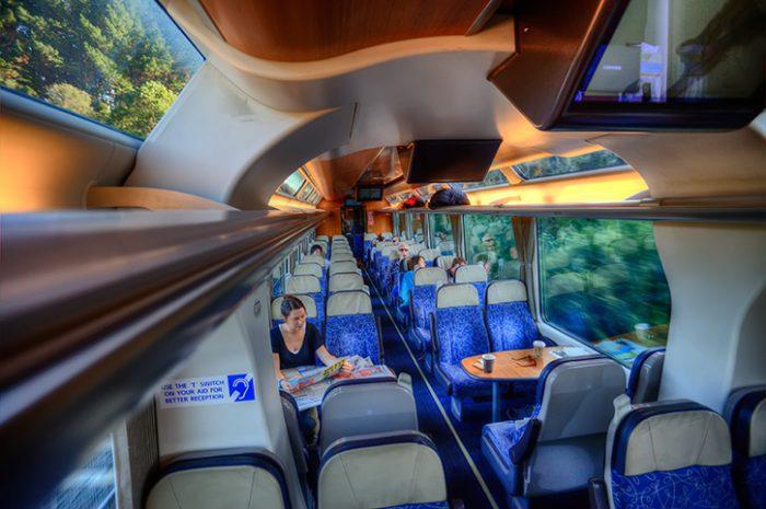 TranzAlpine Scenic Carriage