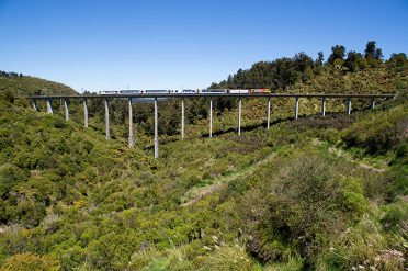 Northern Explorer Hapuawhenua Viaduct Distance