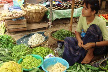 Nyaung U Market Bagan