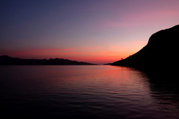 Komodo Island Sunset