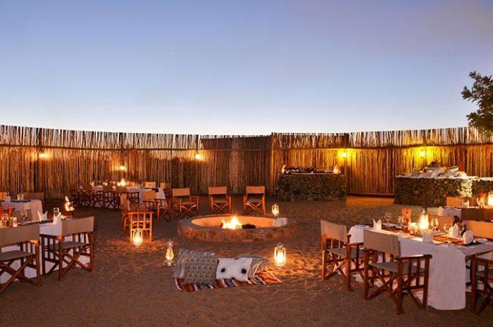 Evening boma, Imbali Safari Lodge