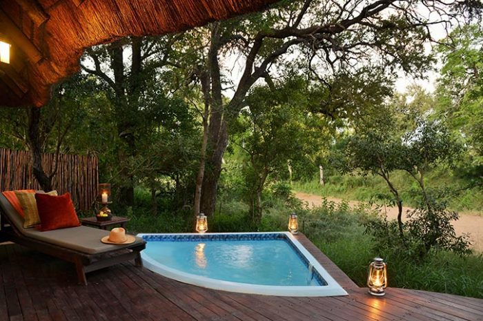 Private plunge pool, Imbali Safari Lodge