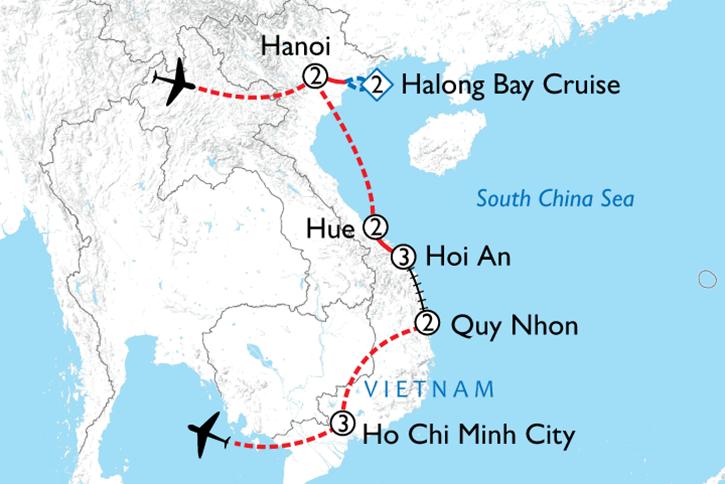 Immersive Vietnam Map