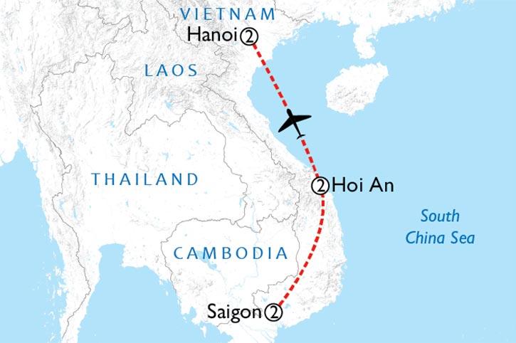 Impressions Of ViImpressions Of Vietnam Mapetnam Map