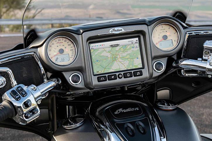 Indian Roadmaster premium technology