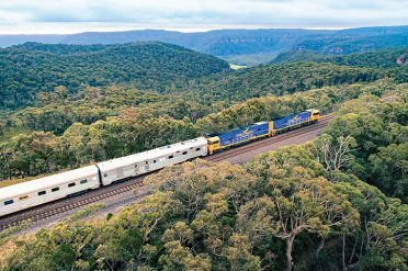 Indian Pacific Through The Blue Mountains