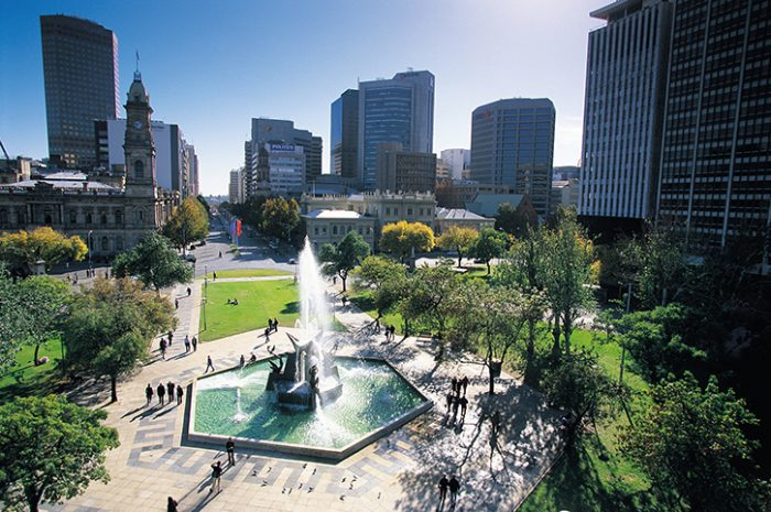 Victoria Square, Adelaide, South Australia