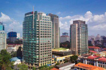 Intercontinental Saigon Hotel Facade