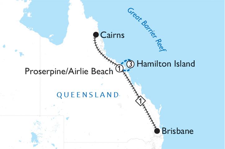 Island Adventure Rail Explorer Map