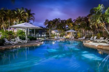 Ivory Palms Outdoor Pool, Nature Coast