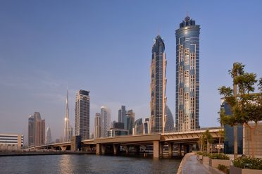 Exterior, JW Marriott Marquis Dubai