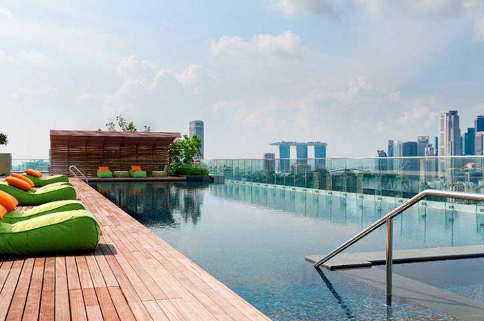 Hotel Jen Orchard Gateway Pool