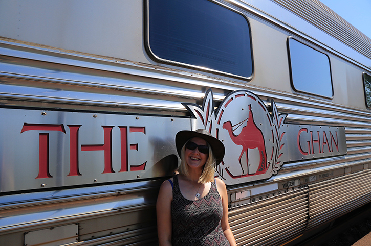 Jen and The Ghan