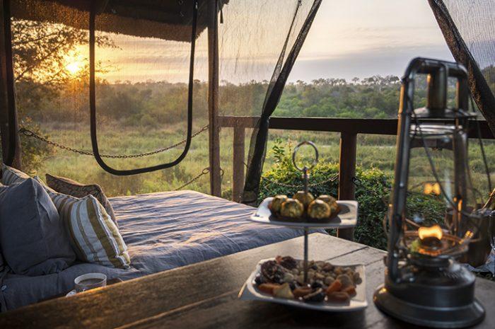Sala sleep out, Jock Safari Lodge