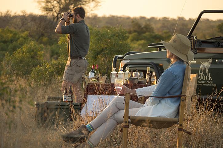 Jock Safari Lodge sundowners