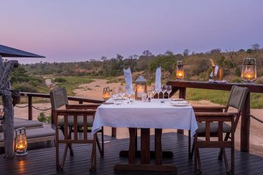 Jock Safari Lodge Romantic Dining