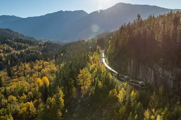 Journey Through The Clouds, Rocky Mountaineer