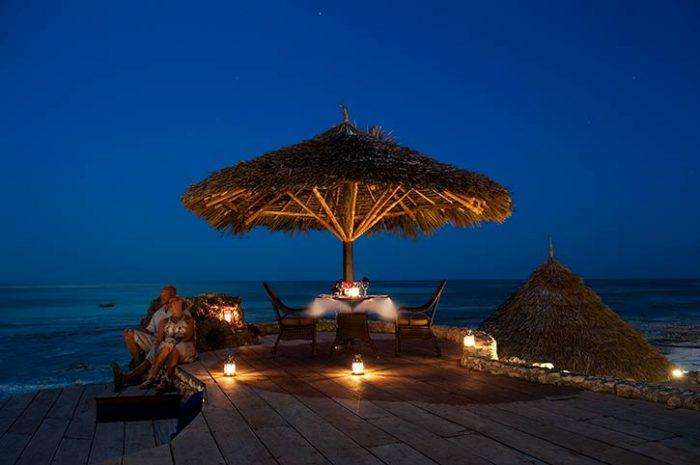 Karafuu Beach Resort Romantic Dinner